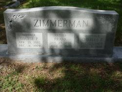 Louise P <i>Schmidt</i> Zimmerman