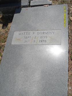 Mattie Verna Dora <i>Roberts</i> Dorminy