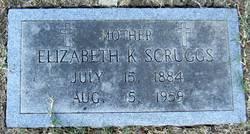 Elizabeth Josephine <i>Kennedy</i> Scruggs