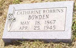 Mallie Catherine <i>Whitley</i> Bowden