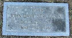 John Dave Scruggs, Sr