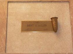 Bert Henry Miller