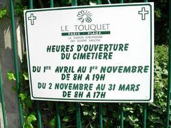 Le Touquet-Paris Plage Communal Cemetery