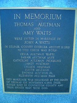 Thomas Aultman Memorial Cemetery