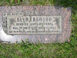 Ella Daniel <i>Johnson</i> Benson