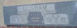 Hattie Bell <i>Shaw</i> Dunham