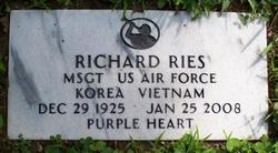 Sgt Richard Earl Ries