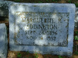 Marguerite Ruth <i>Adams</i> Addington