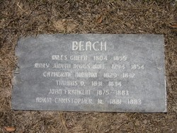 Mary Judith <i>Stephenson Diggs Ball</i> Beach