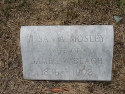 Susan Amelia <i>Moseley</i> Beach