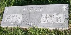 James Wilbur Jimmy Savage