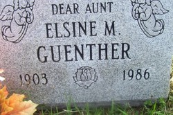 Elsine Mary Guenther
