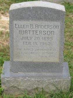 Ellen <i>Boatner</i> Anderson Watterson