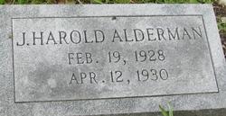 J Harold Alderman