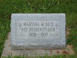 Martina M Marty <i>Heidenfelder</i> Bice