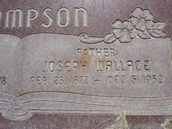 Joseph Wallace Thompson