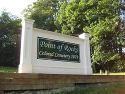 Point of Rocks Colored Cemetery