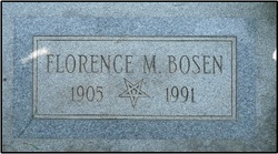 Florence <i>Moffat</i> Bosen
