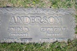 Georgia Elizabeth Betty <i>Garner</i> Anderson