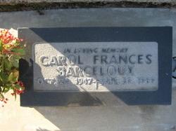 Carol Frances Barceloux
