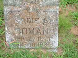 Arcie R. <i>Hayes</i> Bowman