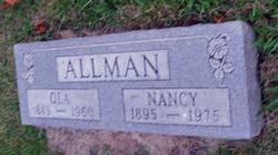Nancy C. <i>Bailey</i> Allman