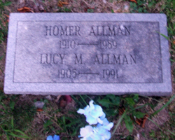 Lucy May <i>Webb</i> Allman