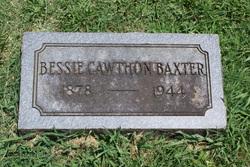 Elizabeth Byrnes Bessie <i>Cawthon</i> Baxter