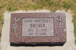 Janie Whiteley Bruner