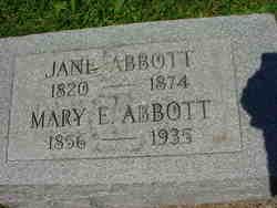 Mary E Abbott