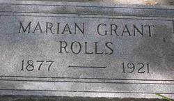Marian Mamie <i>Grant</i> Rolls