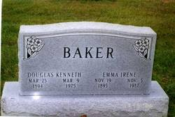 Emma Irene <i>Hennen</i> Baker