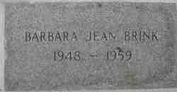 Barbara Jean Brink