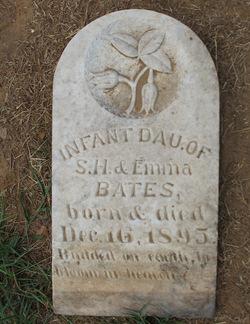 Infant Daughter Bates