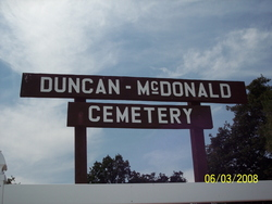 Duncan-McDonald Cemetery