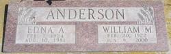 William M Anderson