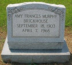 Amy Frances <i>Murphy</i> Brickhouse