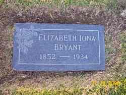 Elizabeth Iona <i>James</i> Bryant