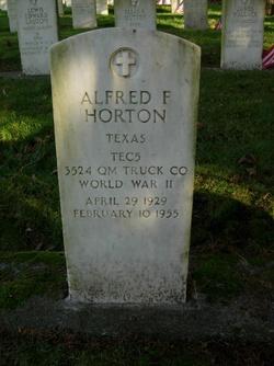 Alfred F Horton