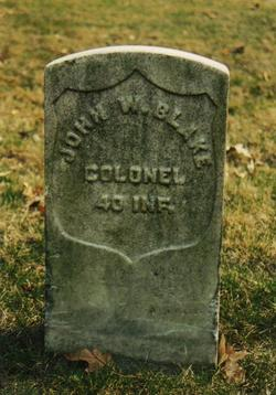 Col John Wesley Blake