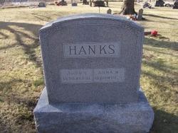 Anna M <i>Moffett</i> Hanks