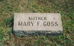 Mary Frances <i>Moulton</i> Goss