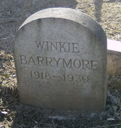 Winkie Barrymore