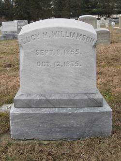 Lucy M Williamson
