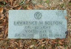 Lawrence M. Bolton