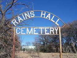 Rains Hall Cemetery