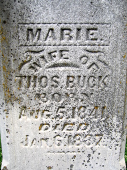 Marie <i>Marchal</i> Buck