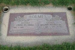 Emma <i>McCarrel</i> Holmes