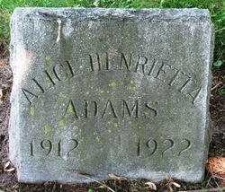 Alice H Adams