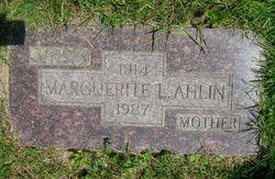 Margaret Laureta <i>Moran</i> Ahlin